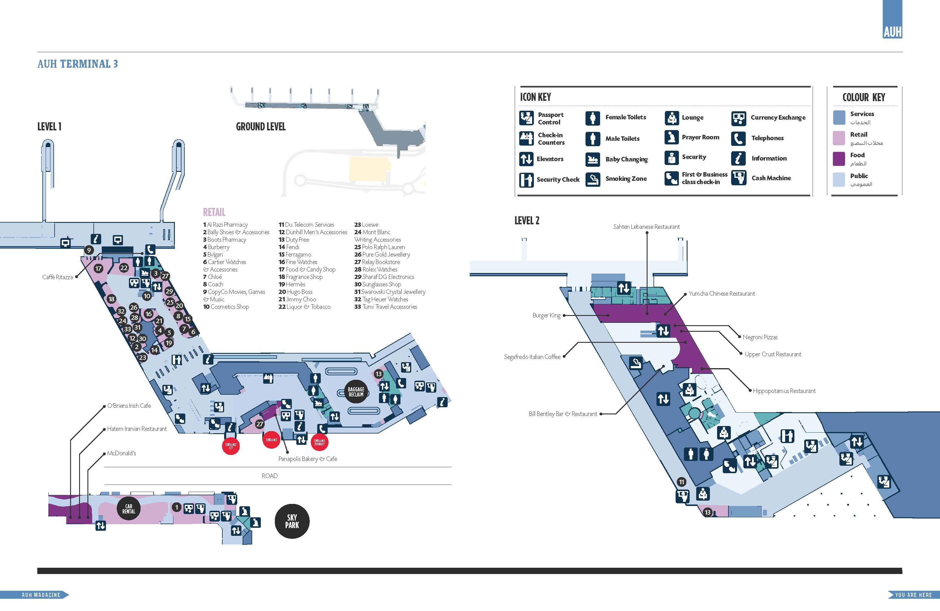 Heathrow Terminal 5 Floor Plan Abu Dhabi International Airport Map Pictures To Pin On