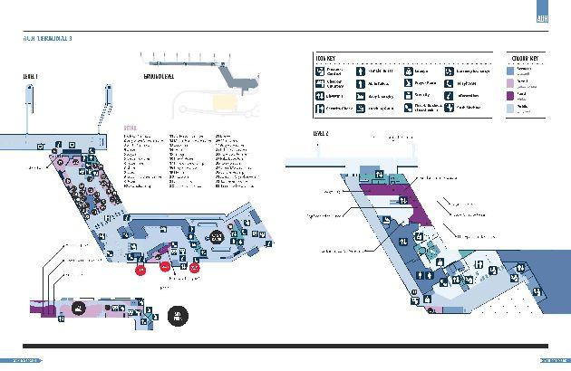 План здания терминала 3, сооружённого в 2009 г. под нужды а/к ''Etihad Airways''