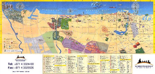 Ещё одна карта с адресами отелей города