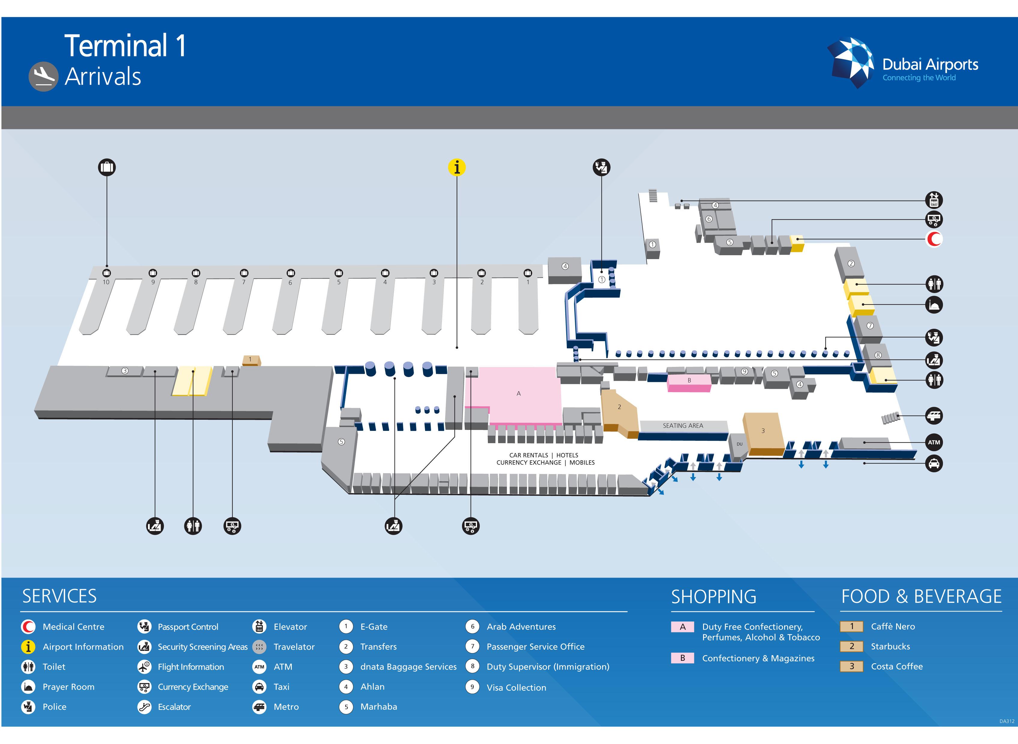 Аэропорт в праге терминалы 1 схемы