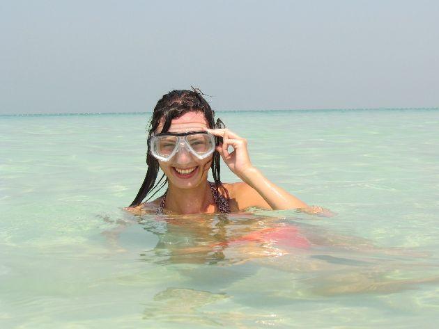 Погода в Дубае в октябре солнечная, но не жаркая, а море чисто, ласковое и теплое!