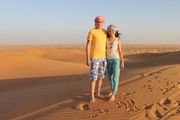 Дуаби в октябре предлагает огромный выбор экскурсий, например, пустнное сафари