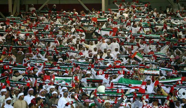 Так болеют в ОАЭ за свою национальную сборную по футболу
