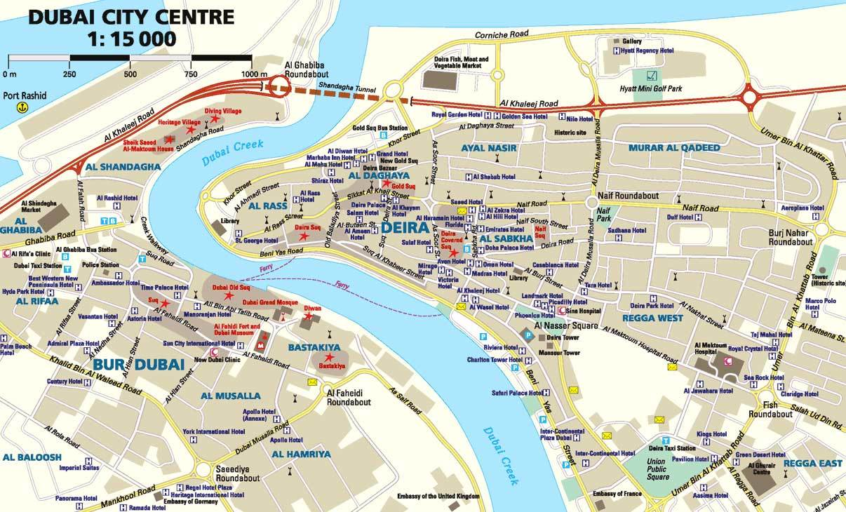 Дубай оаэ схема метро