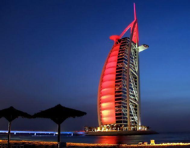В ОАЭ, как и в других странах мира, действует стандартная система классификации отелей