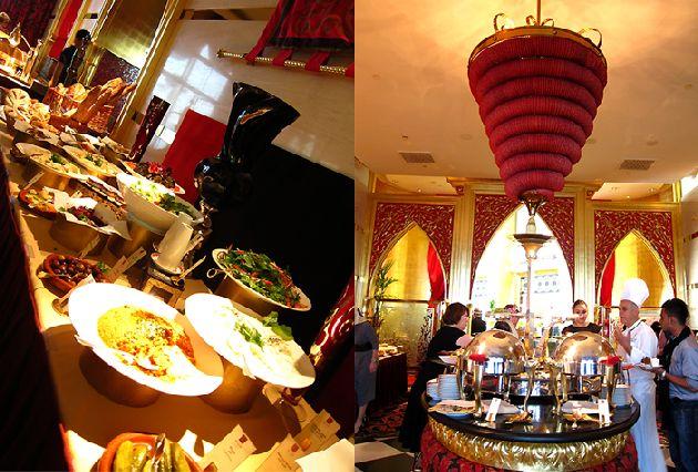 Как правило, отели ОАЭ предлагают завтрак по типу шведского стола, а обеды и ужины -  по ''a`la carte'' меню