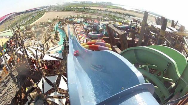 Посетите аквапарк Yas Waterworld в Абу-Даби
