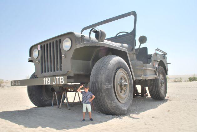 Посетить авто-выставку в музее Emirates National Auto Museum в Абу-Даби
