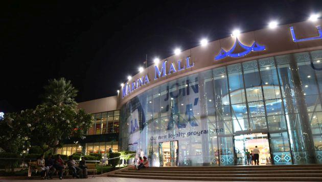 Бутики в Marina Mall в Абу-Даби