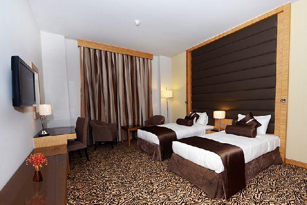 Уютный двухместный номер ''Copthorne Hotel Sharjah''
