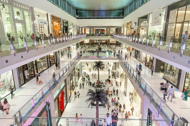 В Дубай Молле огромное количество разнообразных магазинов