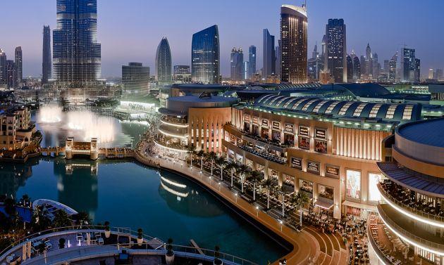 Dubai Mall - крупнейший торговый центр в мире
