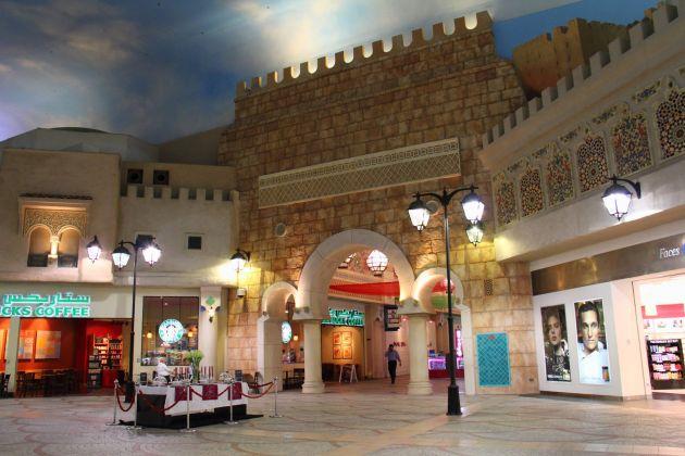 Ибн Баттута Молл - еще одна достопримечательность Дубай