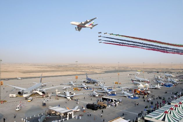 В ноябре в Дубае проходит крупнейшее на Ближнем Востоке авиашоу Dubai Airshow