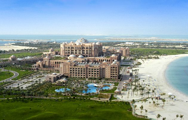 ''Emirates Palace'' -  восточная сказка, ставшая явью