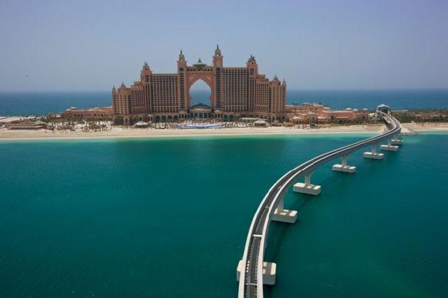Отели ОАЭ славятся невиданной роскошью и предупредительным сервисом