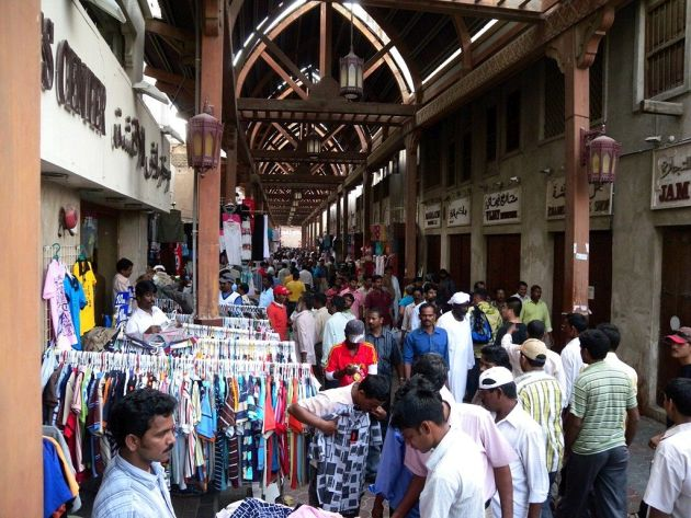Если Вы оказались в районе Дейра, то обязательное загляните на один из местных рынков