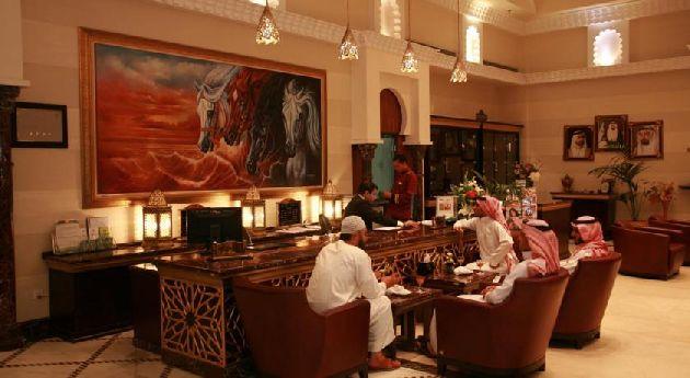 Лобби ''Rayan Hotel Sharjah''