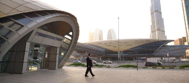 Вот как выглядят станции метро в Дубае